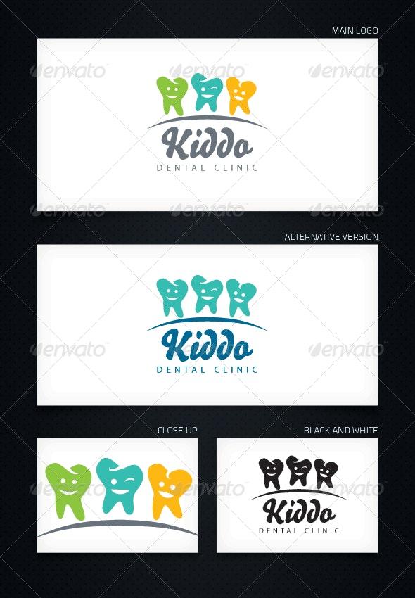 Kiddo Dental Clinic - Logo Template - Objects Logo Templates