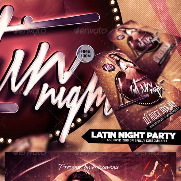 Latin Night Party