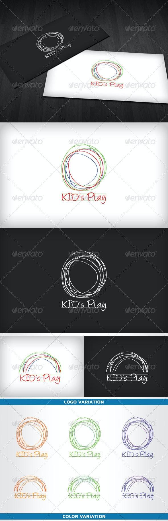KID's Play - Children Activities Logo - Humans Logo Templates