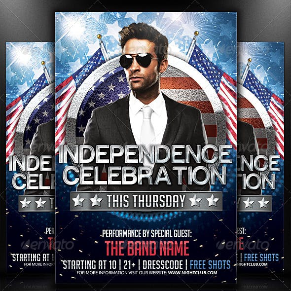 Independence - Flyer Template
