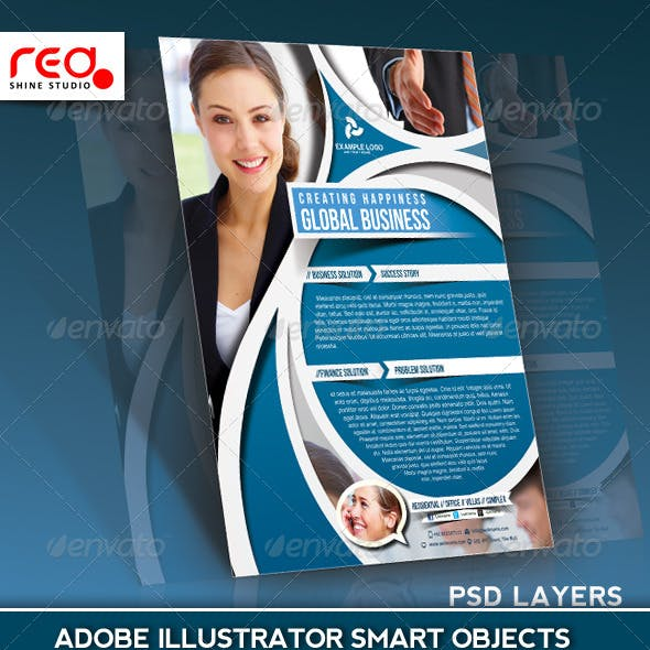 Business Flyer Poster Magazine Template