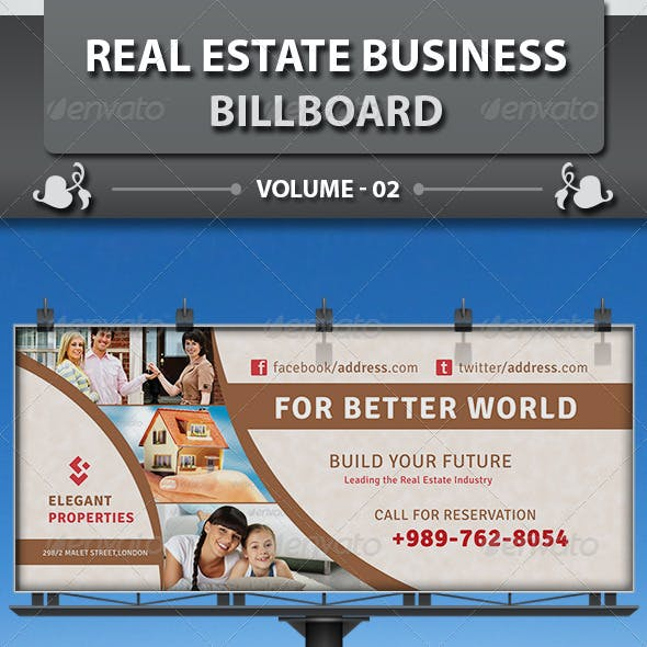Real Estate Business Billboard | Volume 5