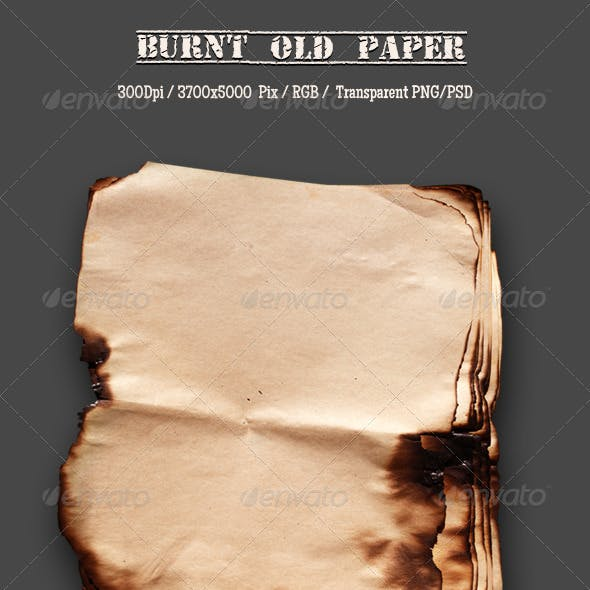 Burnt Old Paper 11