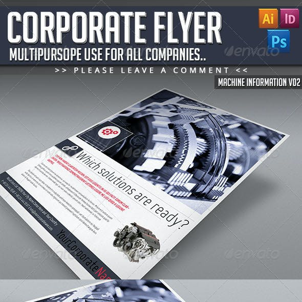 Corporate Flyer - Machine Informations V02