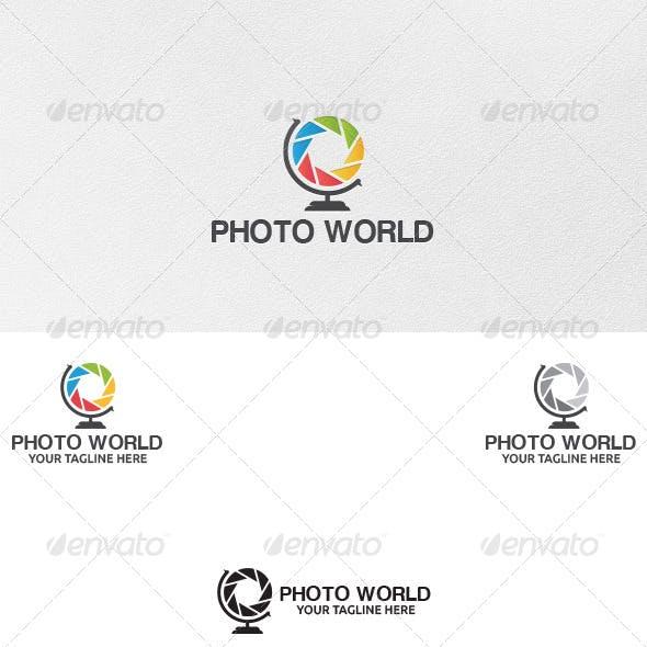 Photo World - Logo Template