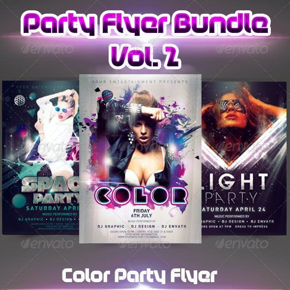 Party Flyer Bundle vol.2