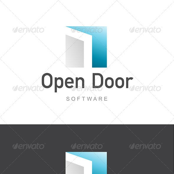 Open Door Software Development / Architecture Logo