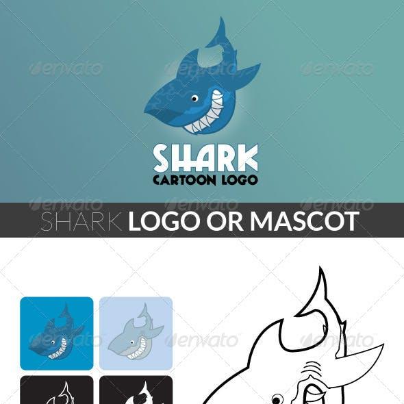 Shark - Cartoon Logo