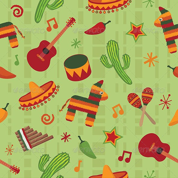 Mexican Seamless Patterns