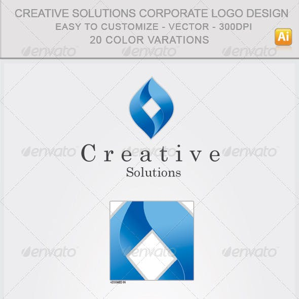 Creative Solutions Corporate Logo Design