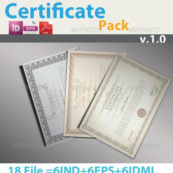 Pro Certificate Pack