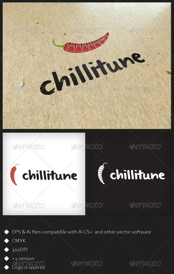 Chilli Tune - Logo Template - Symbols Logo Templates