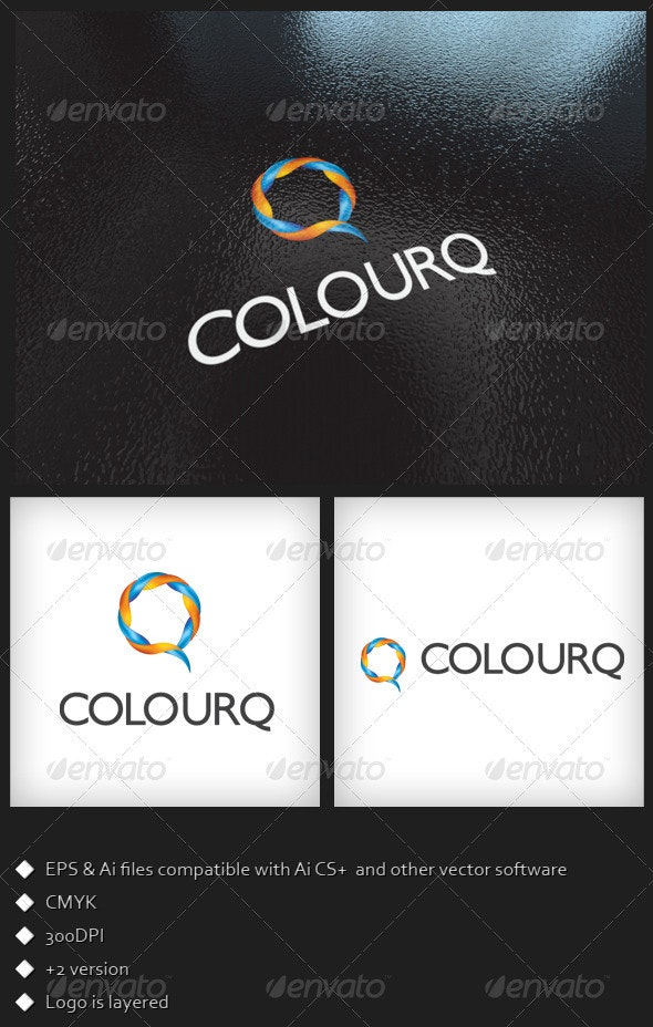 COLOURQ - Logo Template - Symbols Logo Templates