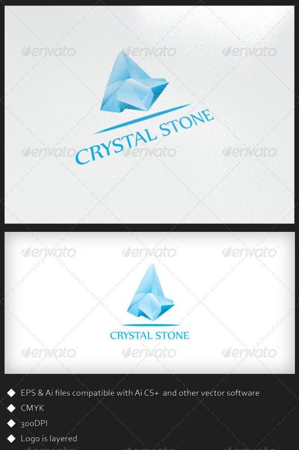 Crystal Stone - Logo Template - Symbols Logo Templates