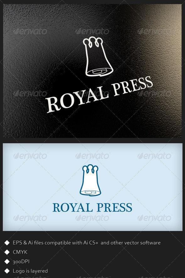Royal Press - Logo Template - Symbols Logo Templates