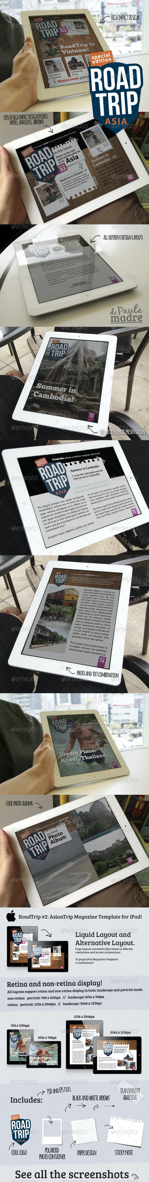 AsiaTrip Magazine Template Issue #2 for iPad - Digital Magazines ePublishing