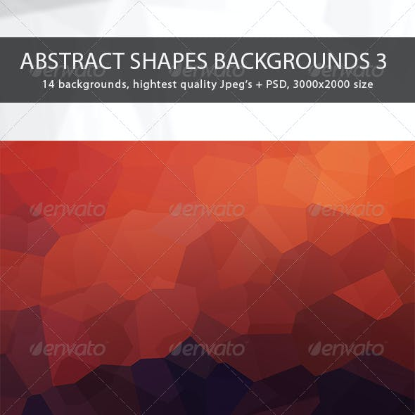 Abstract Shapes Backgrounds 3