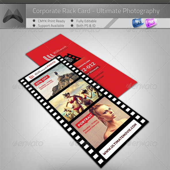 Ultimate Movie/Photography/Image - Rack Card Flyer