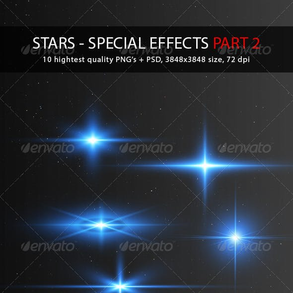 Stars - Special Effects Pack 2
