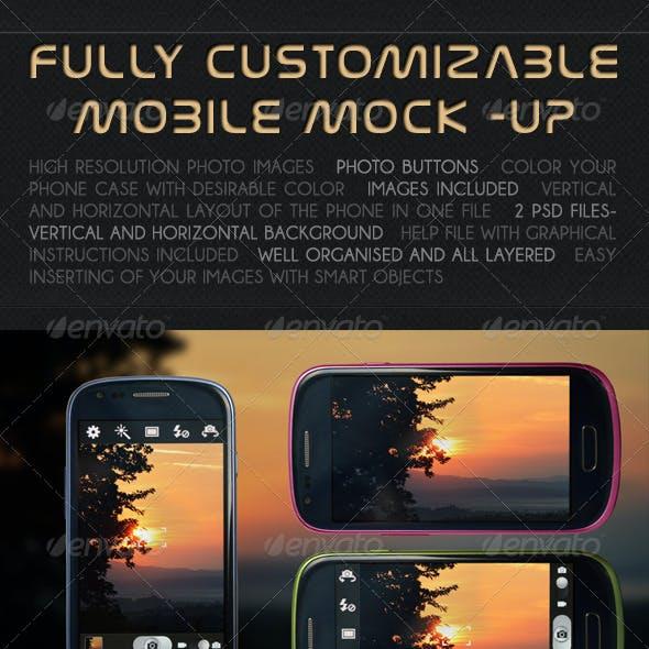 Mobile Photo / App Mock-up