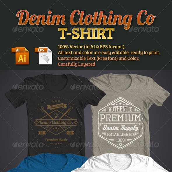 Denim Clothing Co T-Shirt
