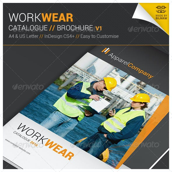 Workwear Catalogue/Brochure V1