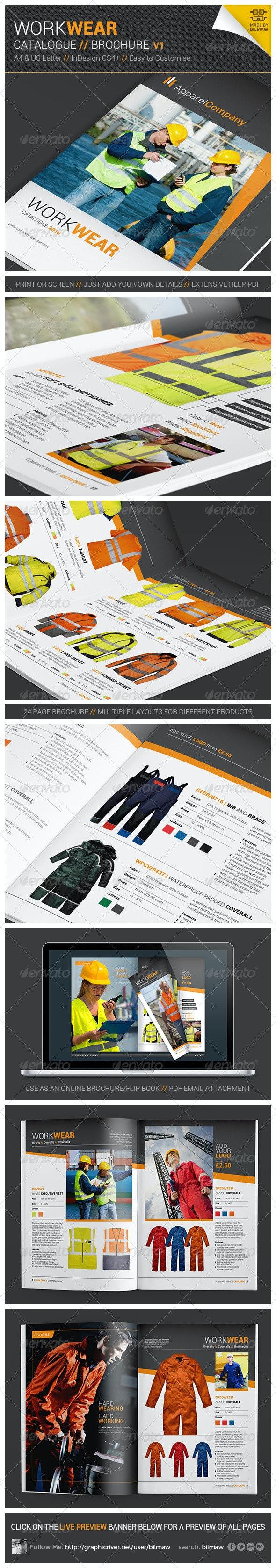 Workwear Catalogue/Brochure V1 - Catalogs Brochures