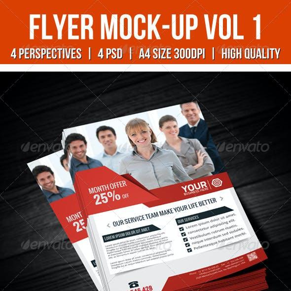 Flyer Mock-Up Vol 1