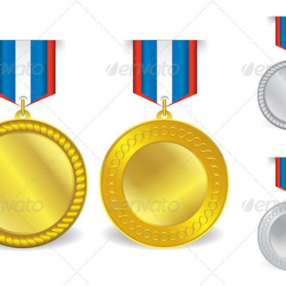 Awards Medals Template 07
