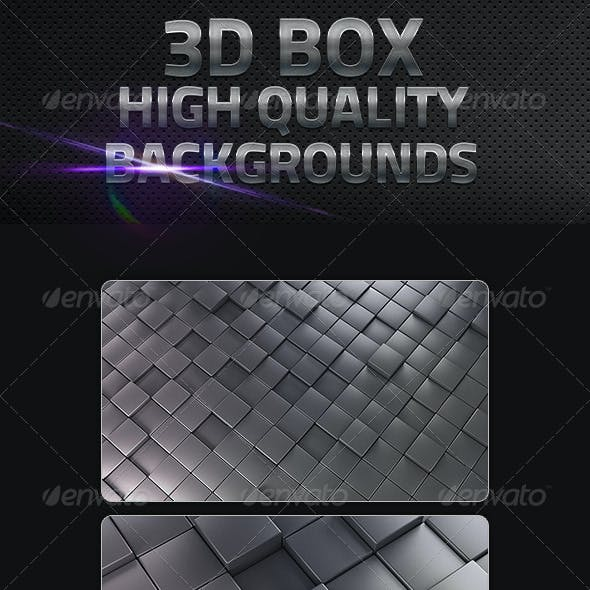 3D Cube Backgrounds in High Resolution