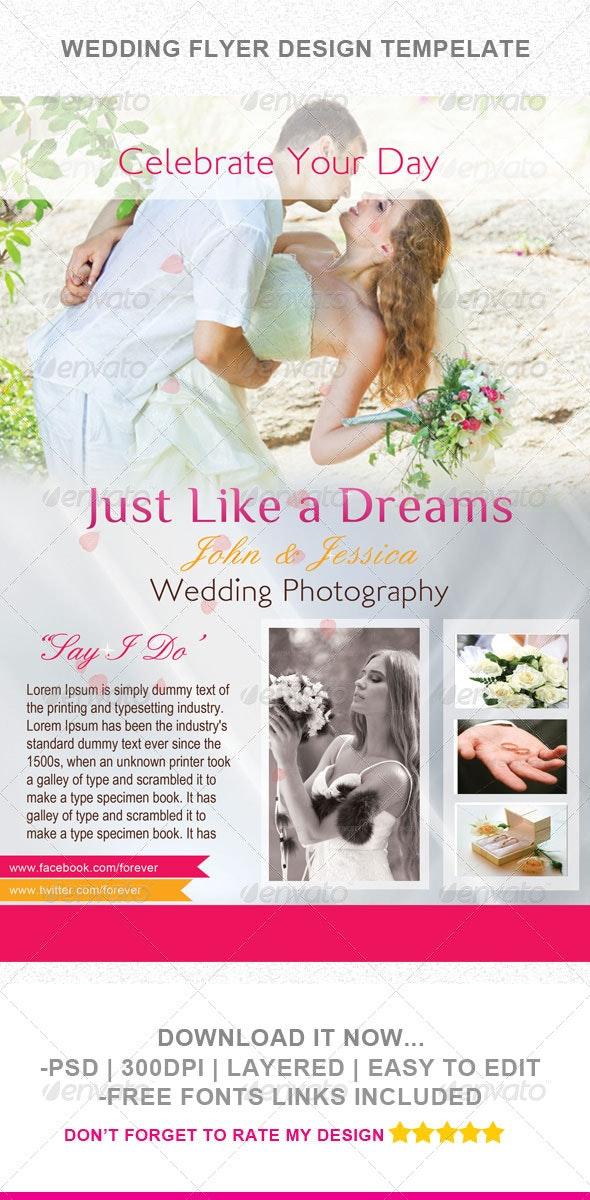 Wedding Flyer Template - Events Flyers