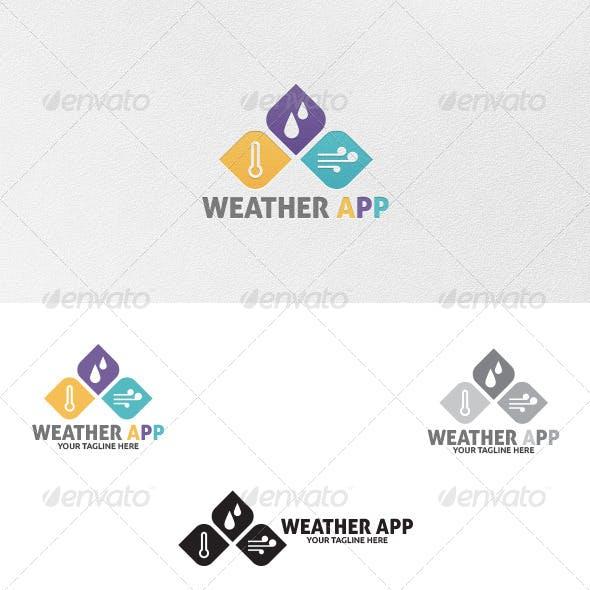 Weather App - Logo Template