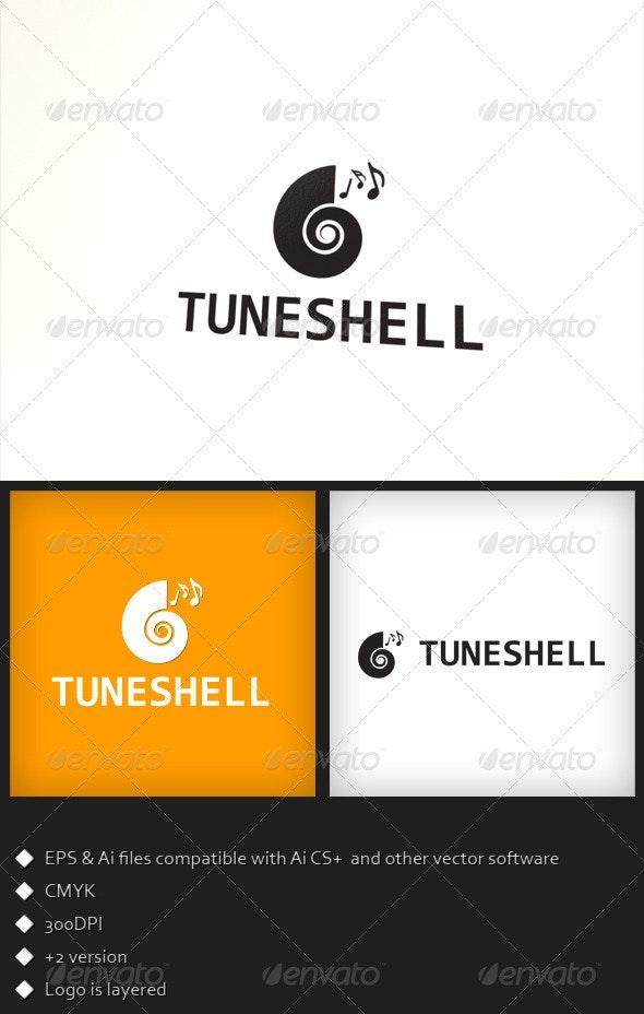 Tune Shell - Logo Template - Symbols Logo Templates