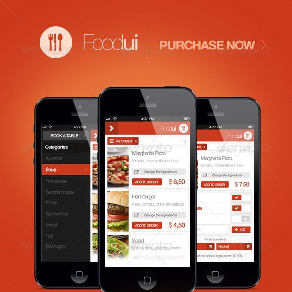 Food Ui - User Interface For Restaurant