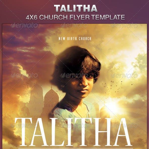 Talitha Church Flyer Template