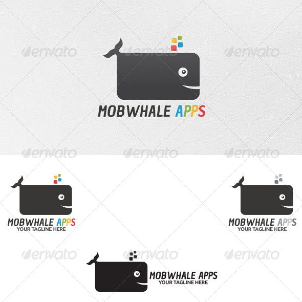 Mobwhale Apps - Logo Template