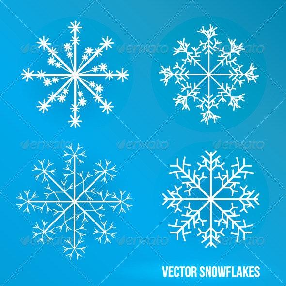 Snowflakes - Miscellaneous Vectors