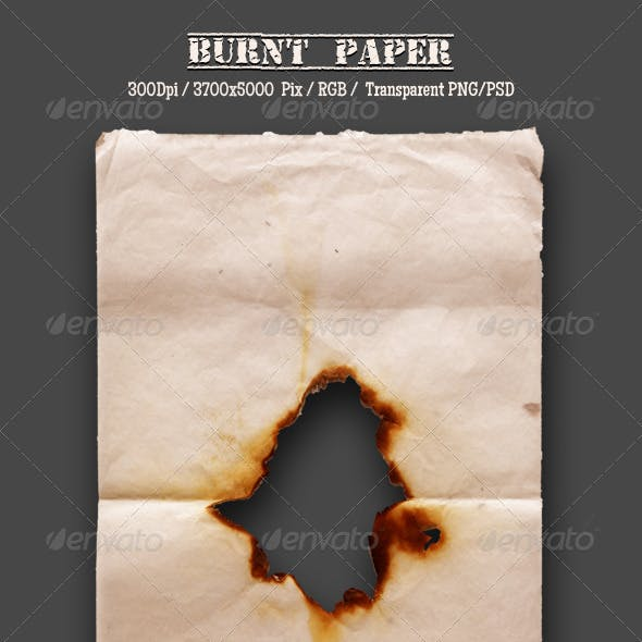 Burnt Old Paper 7