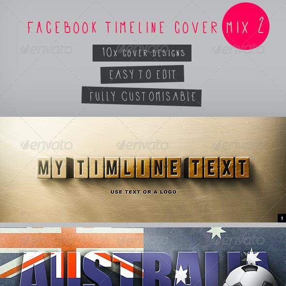Facebook Timeline Covers Mix 2