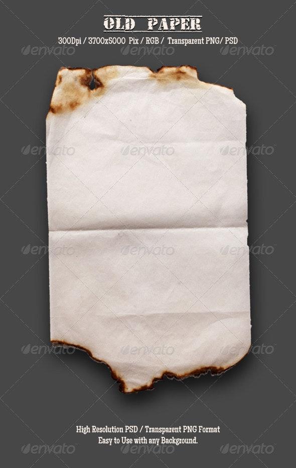 Burnt Old Paper 6