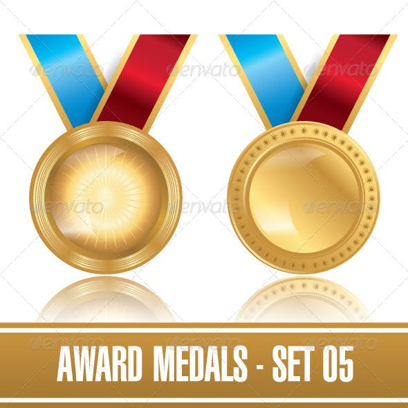Award Medals Template