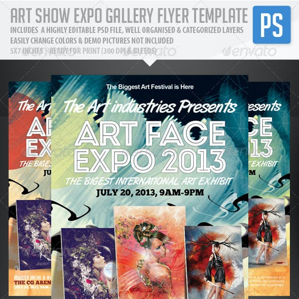 Art Show Expo Flyer Template V.2