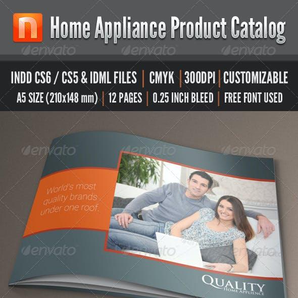 Home Appliance Product Catalog - V1