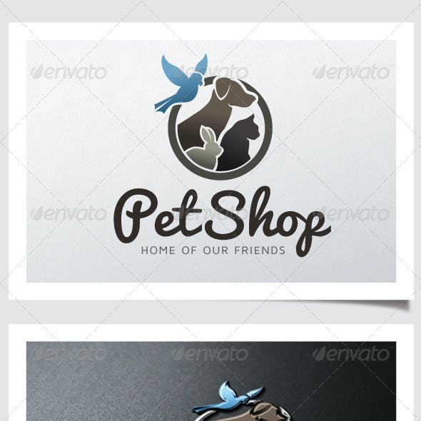 Pet Shop Logo V.02