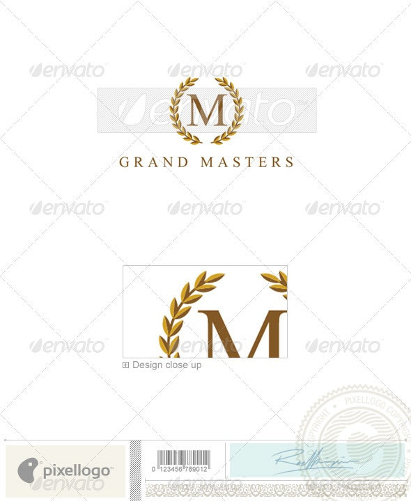 Business & Finance Logo - 906 - Crests Logo Templates