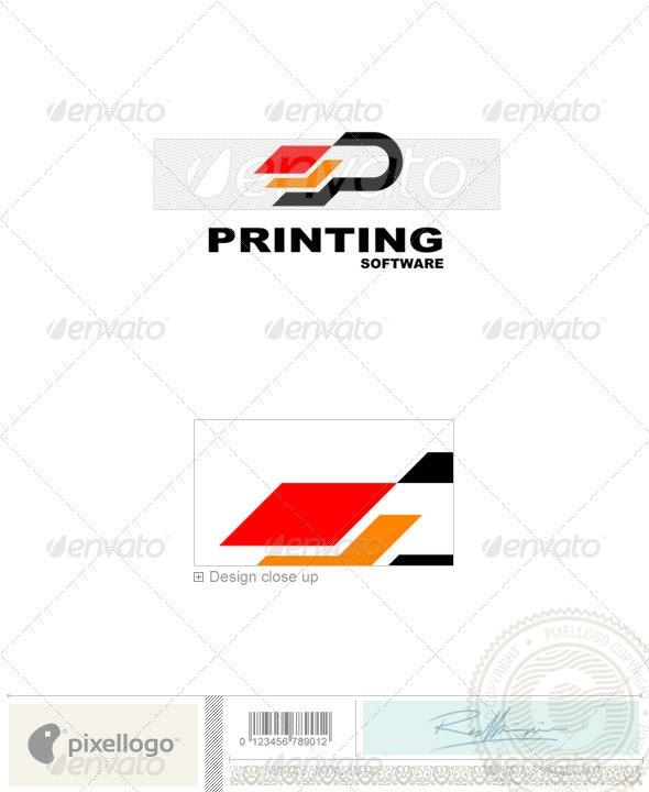 Print & Design Logo - 1055 - Vector Abstract
