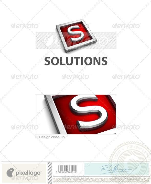 S Logo - 3D-549-S - Letters Logo Templates