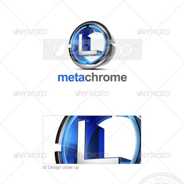 L Logo - 3D-476-L