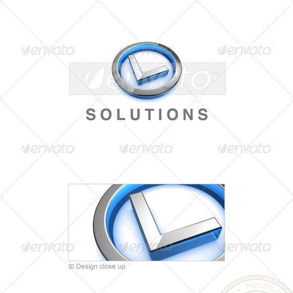 L Logo - 3D-683-L