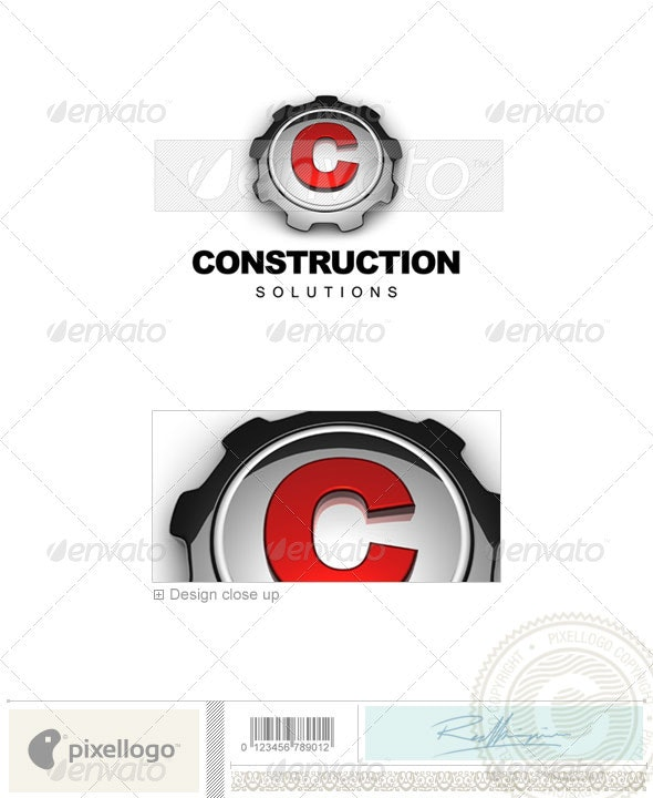 Home & Office Logo - 3D-568 - 3d Abstract